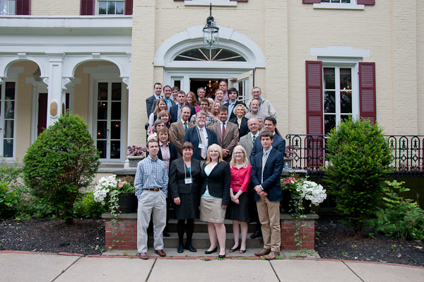 Participants in the Fifth Annual Summer Conference in front of AHI headquarters.